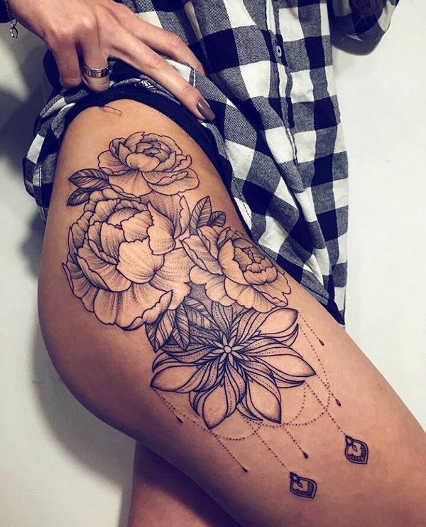 255 Appealing Leg Tattoos For Men Women