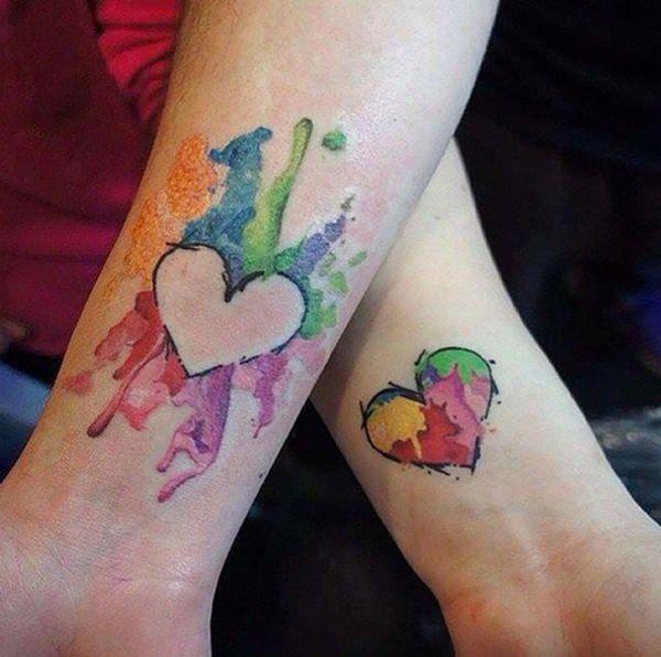 Heart for Best Friend Tattoos