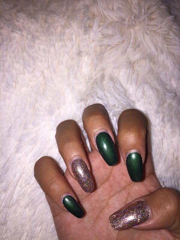 Darker nail colors