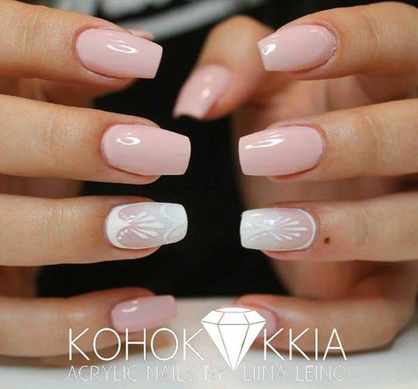 Lighter hue of nail polish