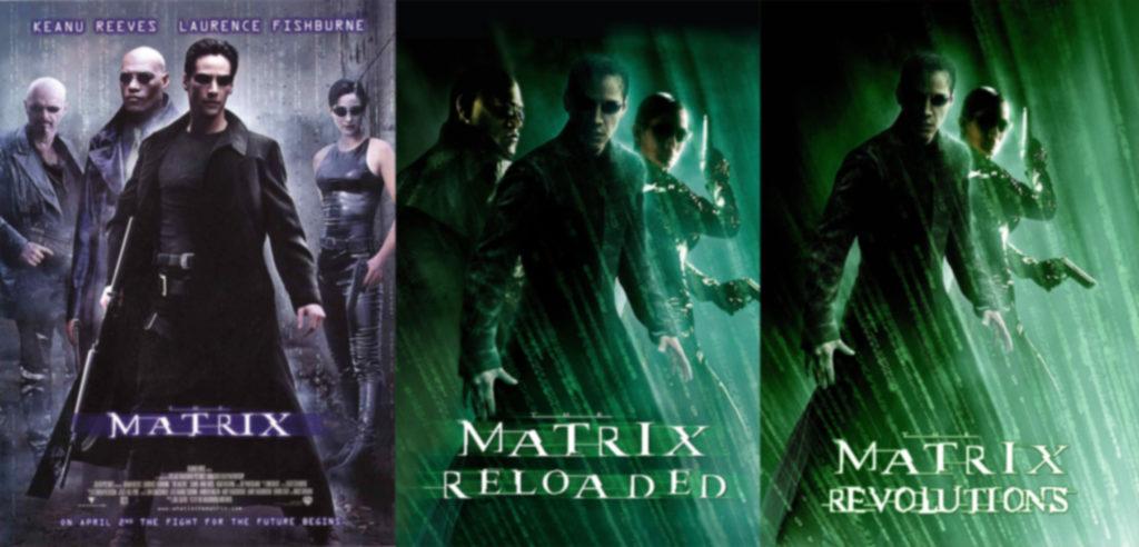 Keanu Reeves at The Matrix Trilogy