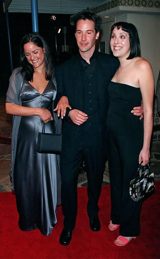 Keanu and his siblings, Kim and Karina