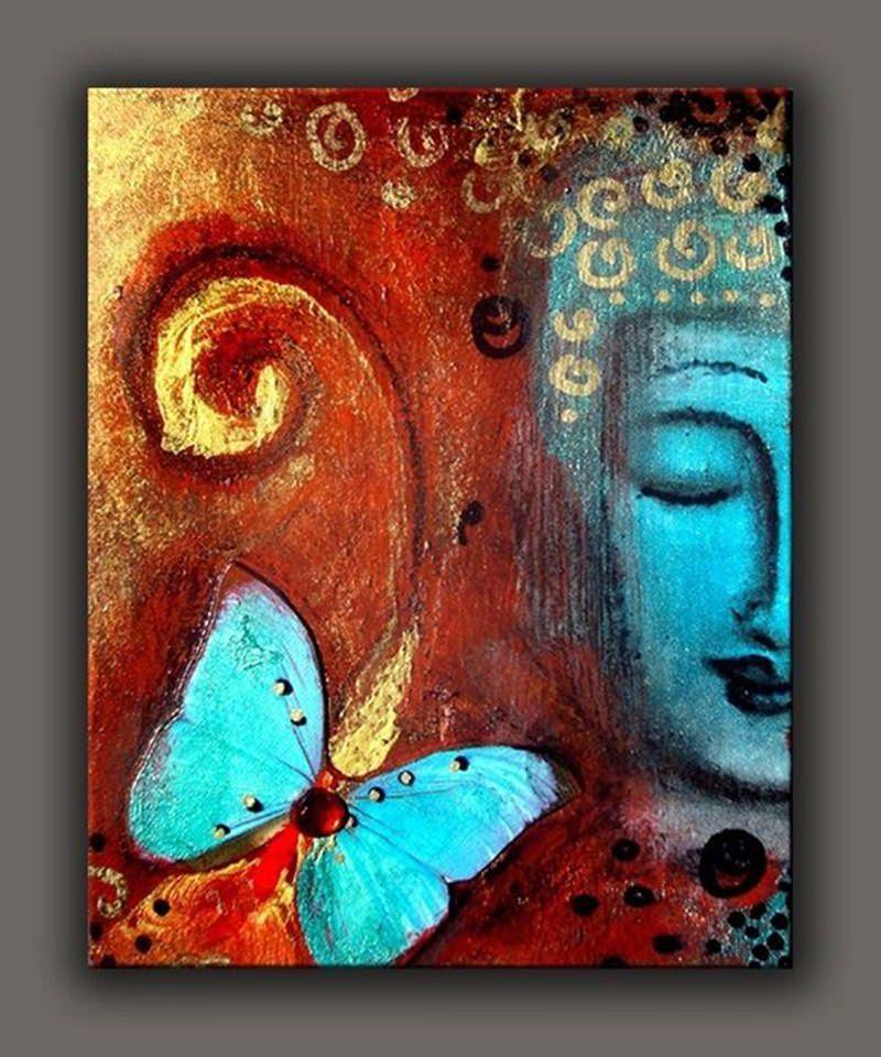 ancient design canvas painting