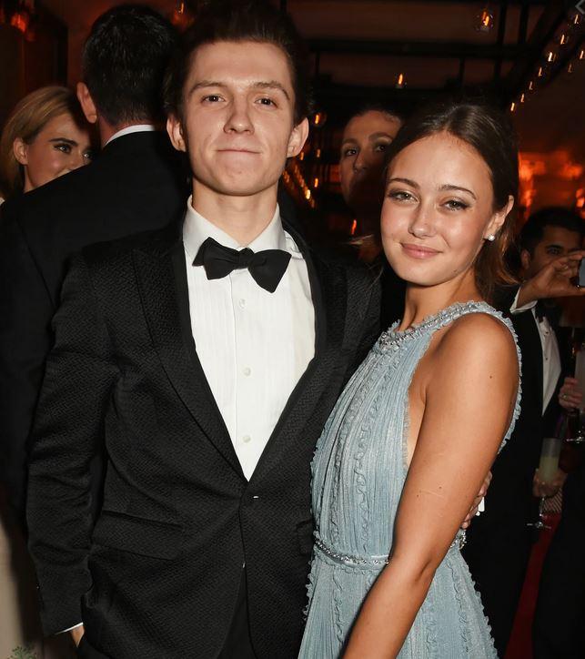 Tom Holland and Ella Purnell