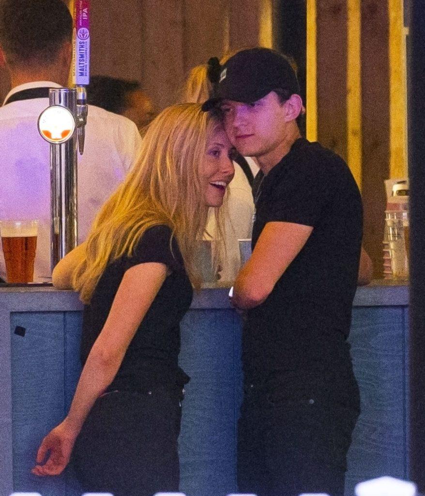 Tom Holland and Olivia Bolton