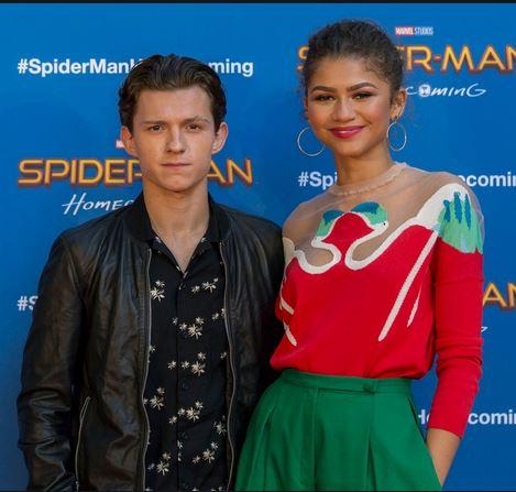 Tom Holland and Zendaya